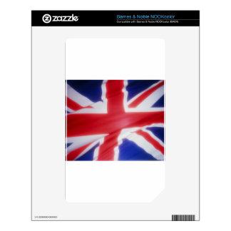 British Flag Skins For NOOK Color