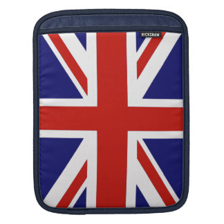 British flag sleeve for iPads