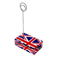 British flag table card holder | Union Jack design