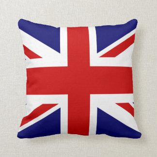 British flag throw pillow | Union Jack design