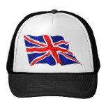 British Flag Trucker Hats