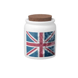 British Flag, (UK, Great Britain or England) Candy Dish