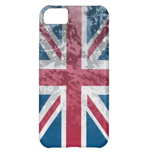 British Flag, (UK, Great Britain or England) iPhone 5C Cases
