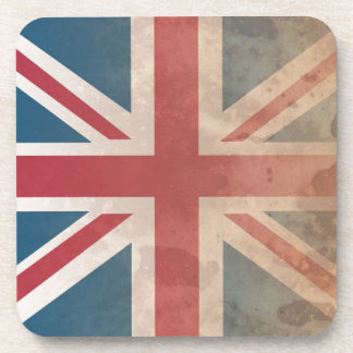British Flag UK Great Britain or England Drink Coasters