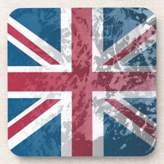 British Flag UK Great Britain or England Beverage Coasters