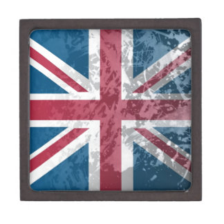 British Flag, (UK, Great Britain or England) Jewelry Box