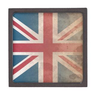 British Flag, (UK, Great Britain or England) Keepsake Box