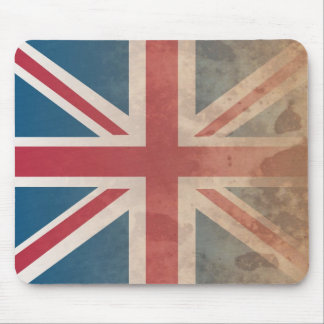 British Flag, (UK, Great Britain or England) Mouse Pad