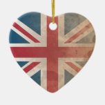 British Flag, (UK, Great Britain or England) Ornaments
