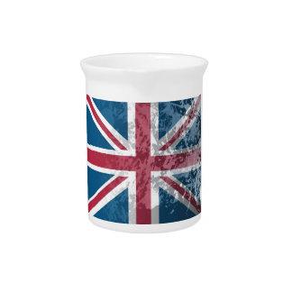 British Flag, (UK, Great Britain or England) Pitcher