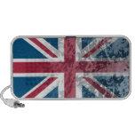 British Flag, (UK, Great Britain or England) Laptop Speakers