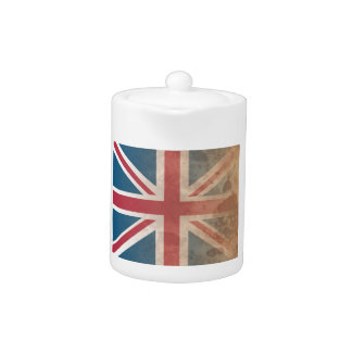 British Flag, (UK, Great Britain or England) Teapot