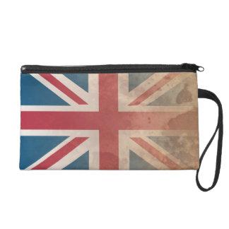 British Flag, (UK, Great Britain or England) Wristlet Purse