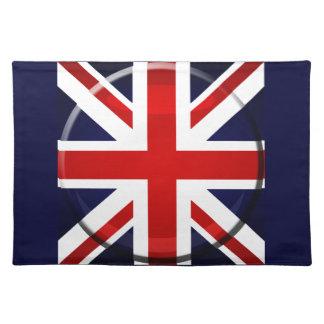 British flag Union Jack GB Cloth Placemat