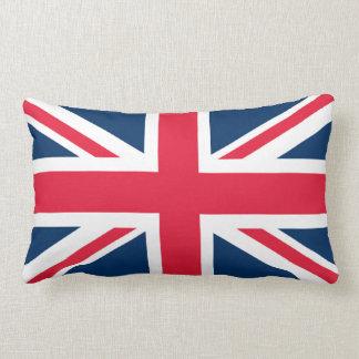 British Flag Union Jack Lumbar Pillow
