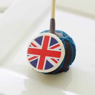 British Flag Cake Pops