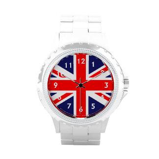 British Flag Wrist Watches