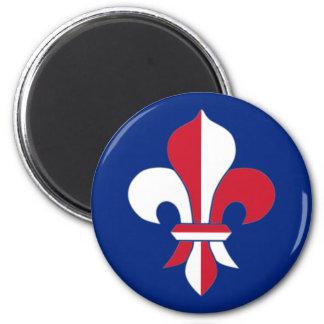 British Fleur-de-Lis Magnet