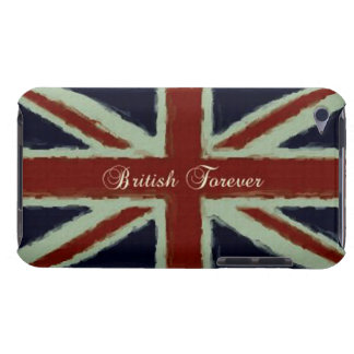 British Forever!-British Flag/Grunge Barely There iPod Cover