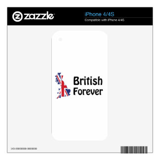British Forever Decal For The iPhone 4S