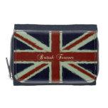 British Forever!-Grunge Union Jack Wallet