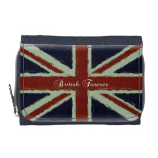 British Forever!-Grunge Union Jack Wallets