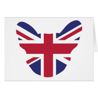 British Frenchie Greeting Cards