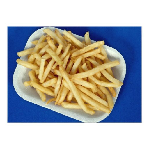 British fried chips announcement