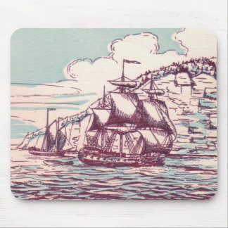 British Frigate 1843 Mouse Pad