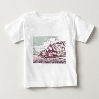 British frigate 1843 t-shirt