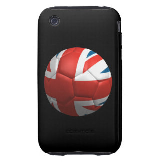 British Futbol iPhone 3 Tough Case