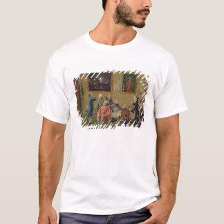 British gentlemen at Sir Horace Mann's home in Flo T-Shirt