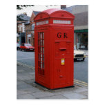 British George V letter box 1929 Postcard