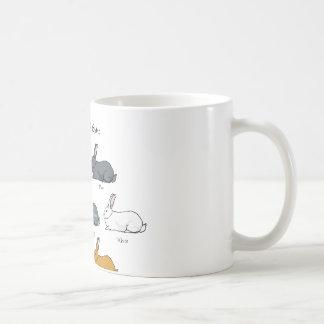 British Giant Rabbit Mugs