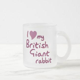 British Giant rabbit mug