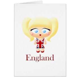 British Girl Card