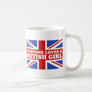 British Girl Coffee Mug