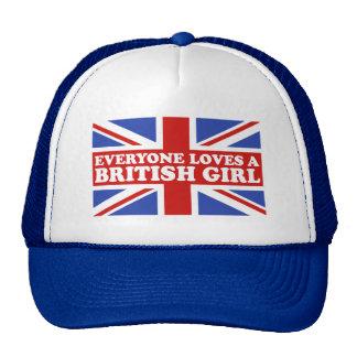 British Girl Trucker Hat