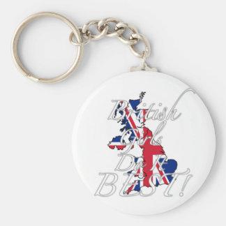 British Girls Do It Best Keychains