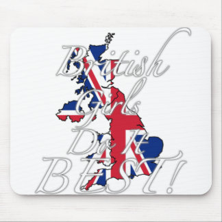 British Girls Do It Best! Mouse Pad