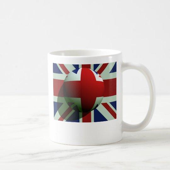 British Globe Flag Coffee Mug