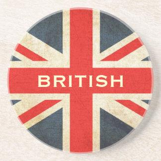 British Grunge Union Jack Posh Coaster