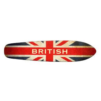 British Grunge Union Jack Retro Skateboard Deck
