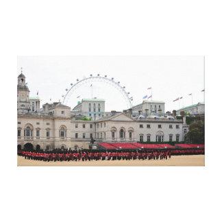British Guards Gallery Wrap Canvas