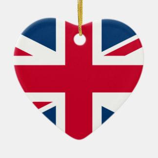 British Heart ornament