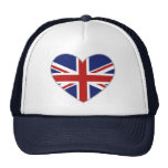 British Heart Trucker Hat