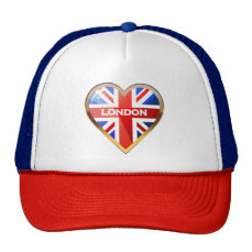 British Heart Trucker Hat