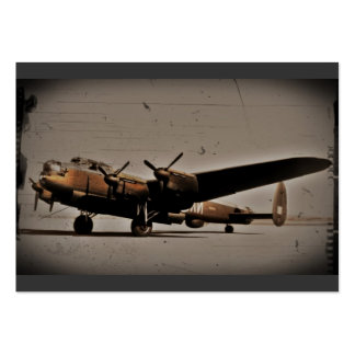 British Heavy Bomber Business Cards