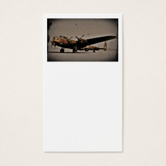 British Heavy Bomber Business Card