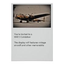 British Heavy Bomber Invitation